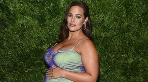 La modelo de tallas grandes Ashley Graham.