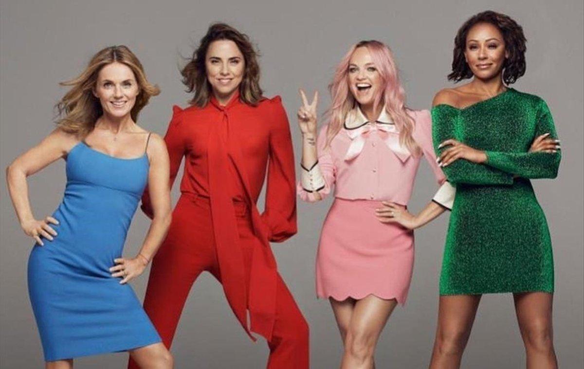Las nuevas Spice Girls posan paraInstagram.