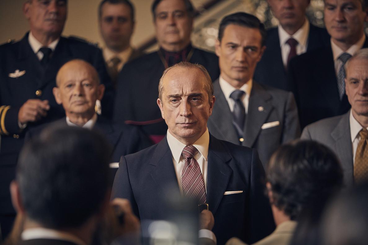 Gonzalo de Castro, en una imagen del telefilme de TVE en el que encarna a Torcuato Fernández-Miranda.
