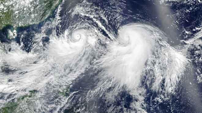 China activa la alerta roja por la llegada del tifón 'Lekima'.
