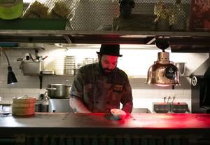 El Chingón, cuina amb tatuatges