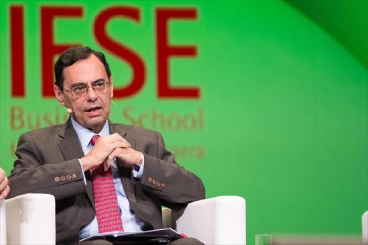 Jaime Caruana, en un acto del IESE, en Múnich.