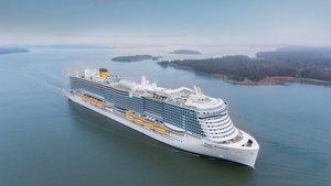 Así es el Costa Smeralda, el crucero sostenible impulsado por GNL