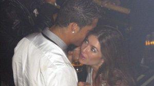 Cristiano Ronaldo y Kalthryn Mayorga, en Las Vegas, en junio del 2009.