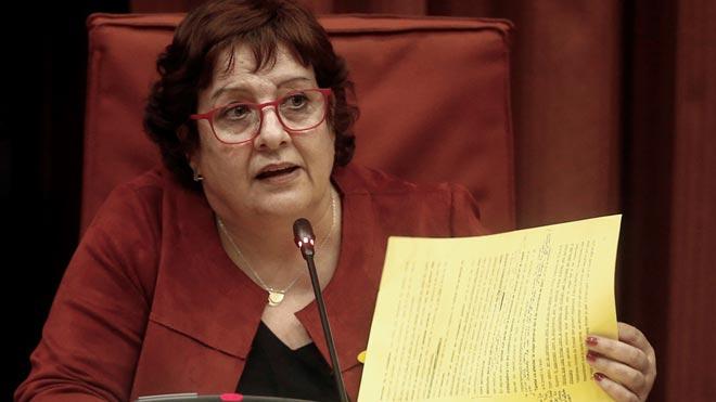 Declaraciones de Dolors Bassa en el Parlament