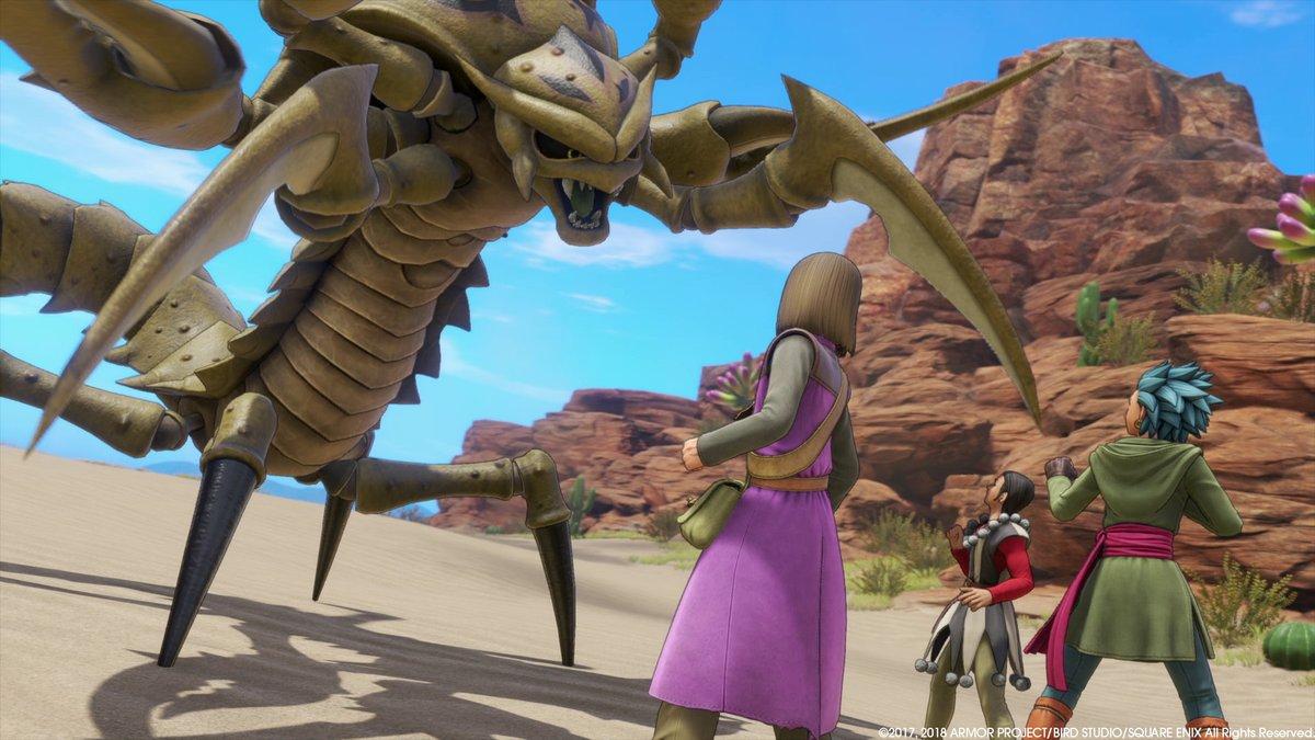 Dragon Quest XI: Ecos de un pasado perdido.