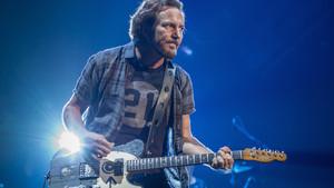 Eddie Vedder, en el concierto del martes de Pearl Jam en Barcelona