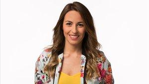 La periodista Elisabet Cortiles, presentadora de 'Orígen Catalunya' en TV-3.