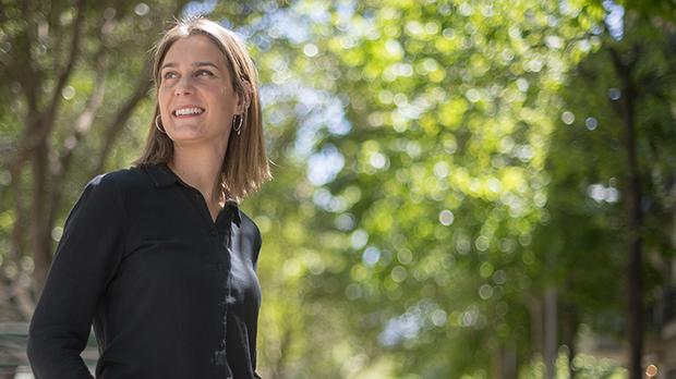 Entrevista a Jéssica Albiach, líder de los 'comuns' en el Parlament de Catalunya.