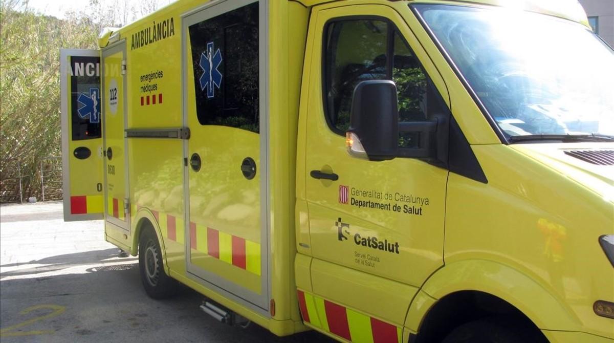 Un equipo del Servei dEmergències Mèdiques (SEM).