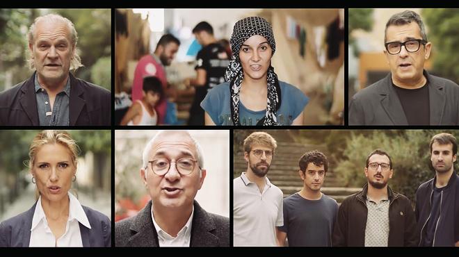 Espot de la campaña Casa Nostra, Casa Vostra, con participación de conocidos rostros del mundo de la cultura y la comunicación.