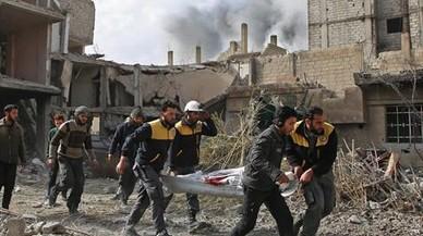 Siria, una guerra entre pirómanos