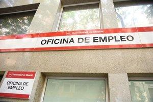 Fachada de una de las oficinas de Madrid.