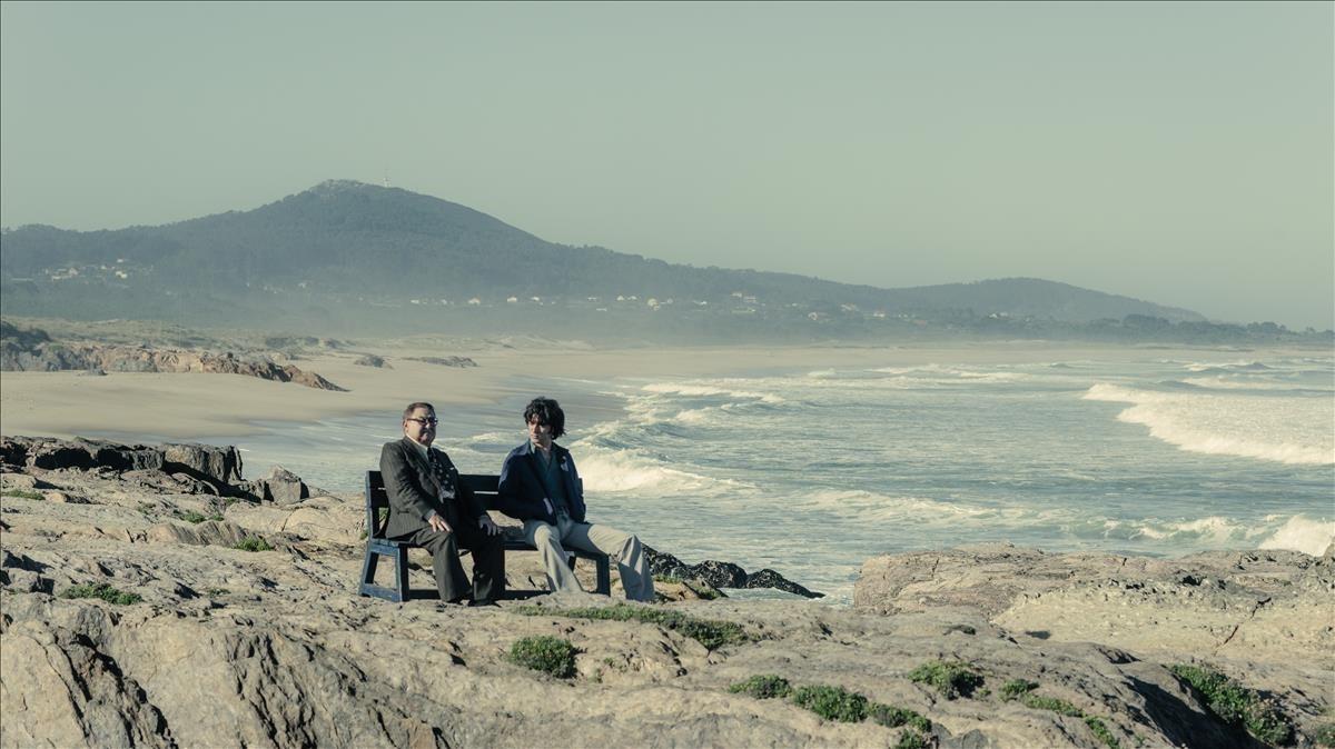 Una imagen de la serie de Antena 3 Fariña, que se graba estos días en Galicia.