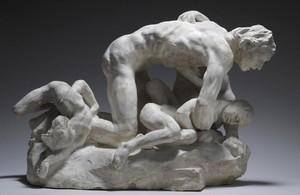 Ugolin et ses enfants (1881-1882), de Auguste Rodin.