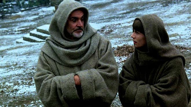 Fragmento de la película 'El nombre de la rosa' 1986 del libro de Umberto Eco