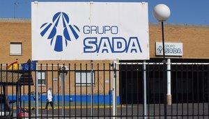 Imagen de archivo de unmatadero del Grupo Sada ubicado en la provincia de Toledo.