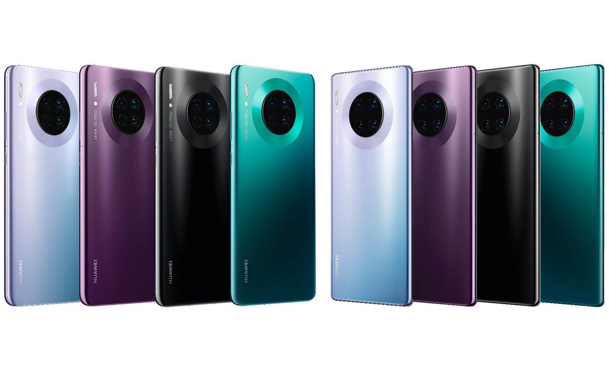 Nueva familia Mate 30 de Huawei.