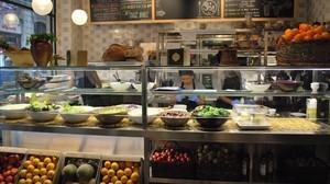 El restaurante vegetariano Teresa Carles.