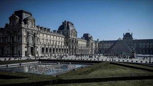 Imagen de archivo del Museo del Louvre, en París, el 22 de febrero del año pasado.