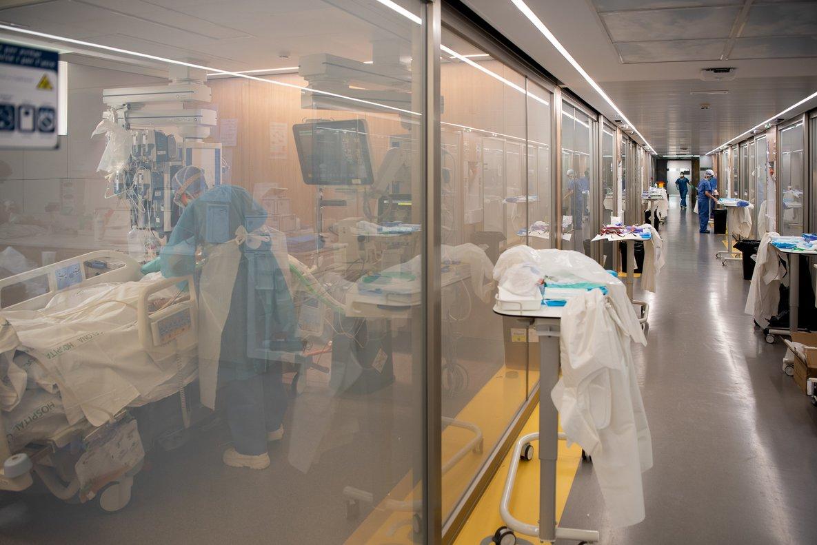 Imagen de un centro hospitalario de Barcelona, este caso el Clínic.