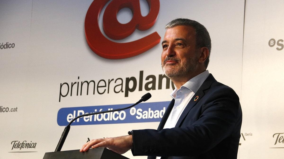 Jaume Collboni asiste a Primera Plan@: El pacto Colau-Maragall subordinará Barcelona al 'procés'