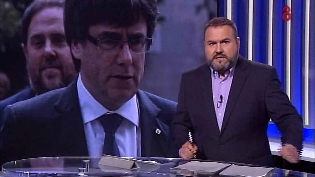 Jordi Armenteras en 8 al día (8TV).
