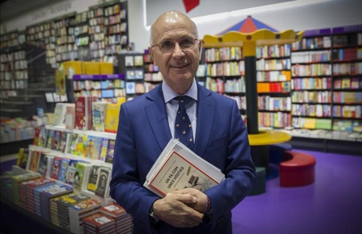 El exlíder democristiano Josep Antoni Duran Lleida, en la presentación de su libro en Barcelona.