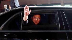 El líder norcoreano tras mantener la histórica cumbre con el presidente surcoreano Moon Jae-in.