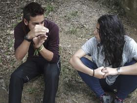 Lince y Ayaa, chicos que han participado en casales de verano y ahora quieren ser monitores.