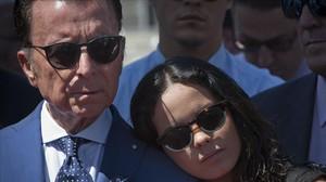 José Ortega Cano y Gloria Camila.