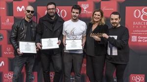 Daniel Rosa guanya el premi a millor dissenyador emergent