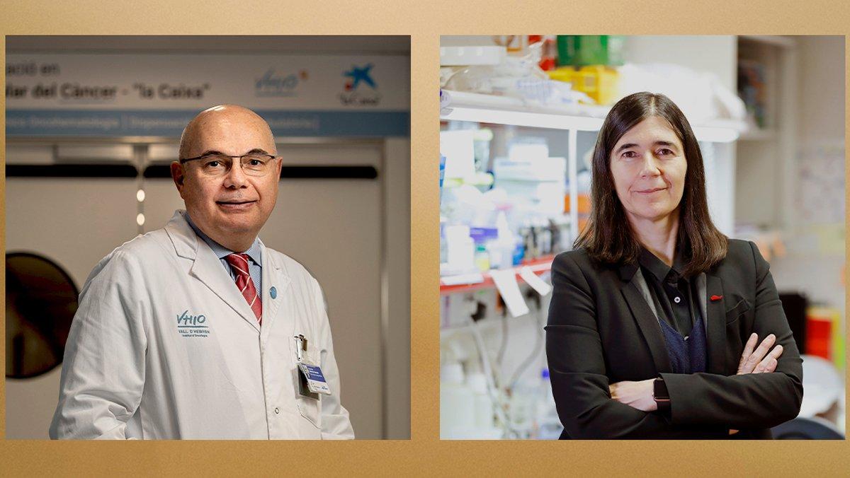 Los doctores María A. Blasco y Josep Tabernero partiparán en un debate sobre la lucha contra el cáncer.