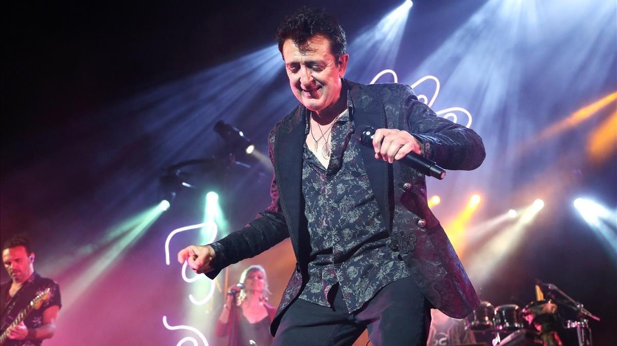 Manolo García, en el concierto que ofreció en julioen Cap Roig.