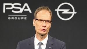 El máximo responsable de Opel, Michael Lohscheller.