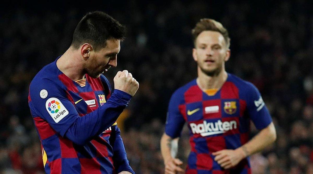 Messi ha celebrado su sexto Balón de Oro con un hat trick.