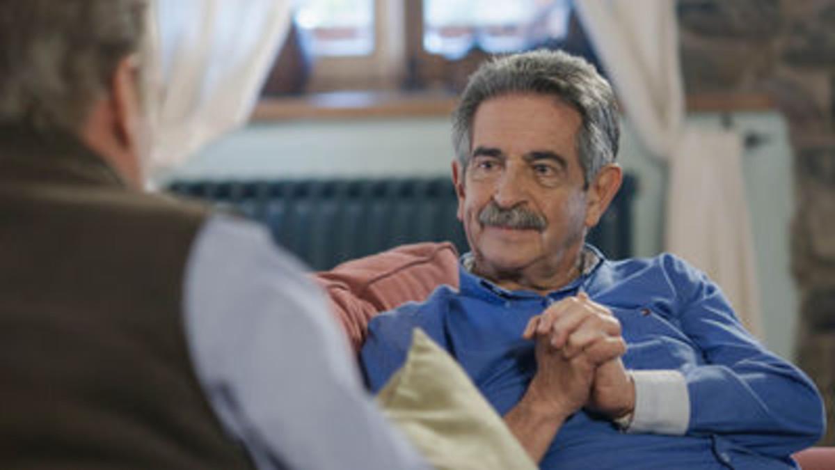 Miguel Ángel Revilla, con Bertín Osborne, en Mi casa es la tuya.