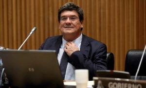 El Ministro de Seguridad Social, Inclusión y Migraciones, José Luis Escrivá, en el Congreso de los Diputados.