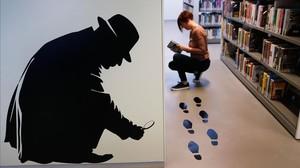 La biblioteca Montbau-Albert Oérez Baró cuenta con un amplio fondo dedicado a la novela negra