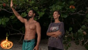 Nyno y Fani en 'Supervivientes 2020'.