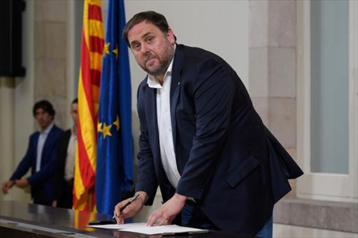 El vicepresidente del Govern y máximo responsable de Economía de Catalunya, Oriol Junqueras.