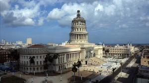 Panorámica del Gran Teatro de La Habana, el 19 de marzo del 2016.