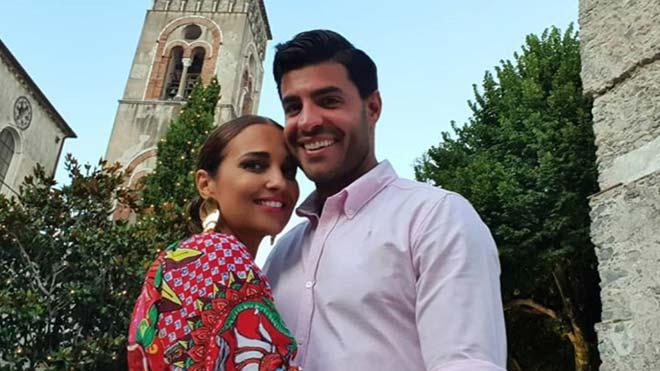 Paula Echevarría y Miguel Torres disfrutan de sus vacaciones en la costa amalfitana.
