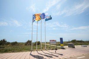 La platja de Gavà revalida un any més la bandera blava