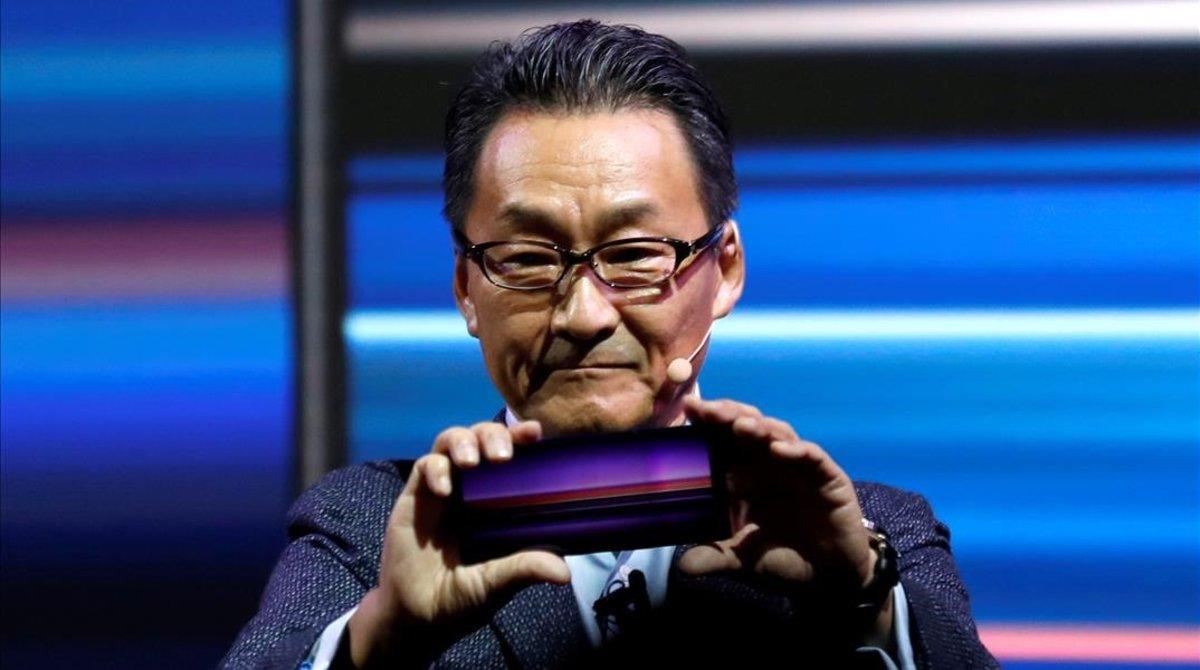 Presentación del Sony Xperia1 en el Mobile World Congress.