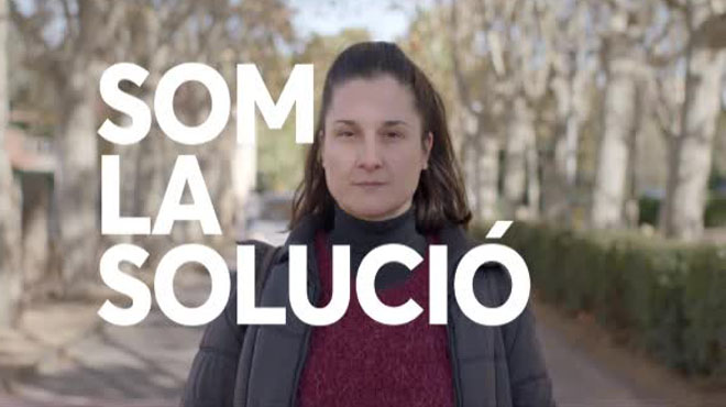 Vídeo de la candidata Carmen Chacón.