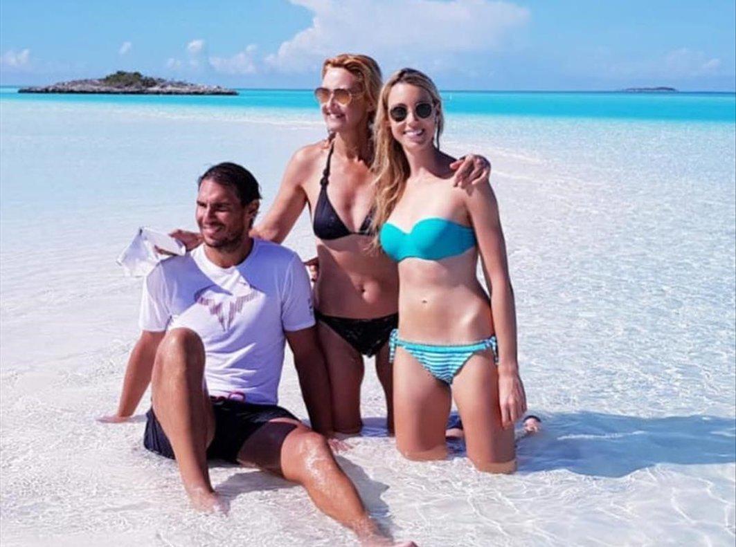 Rafa Nadal se va con su familia de vacaciones al Caribe.
