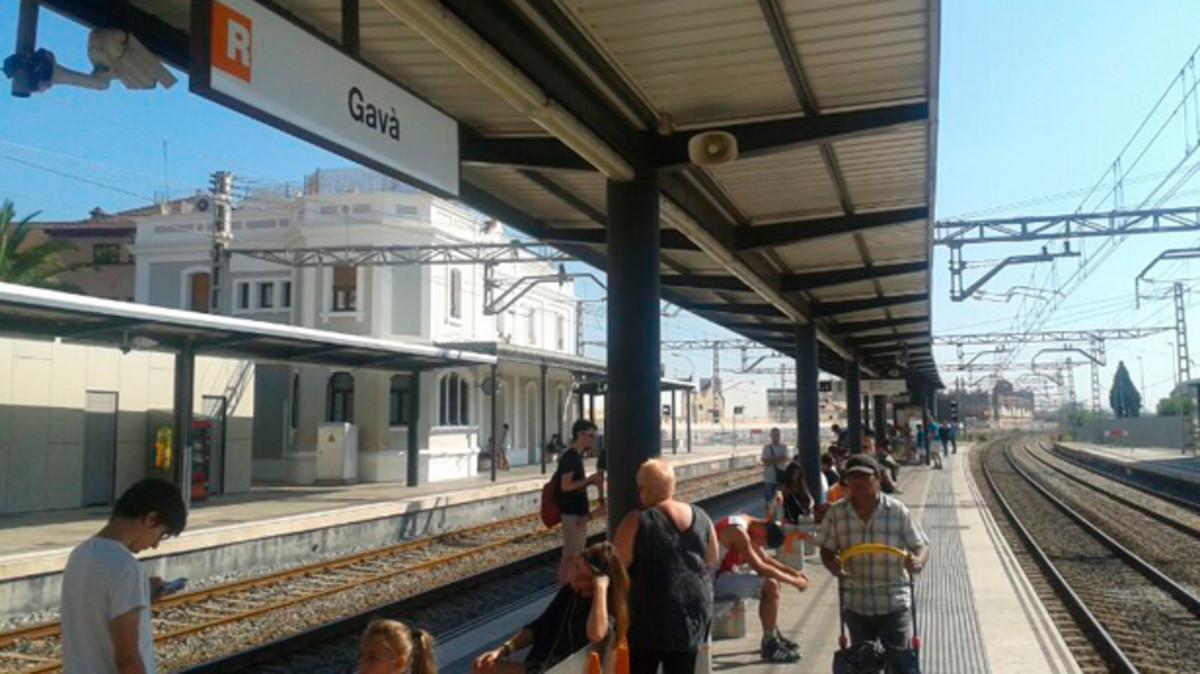 Renfe modifica los horarios entre Gavà y El Prat a partir del 11 de agosto