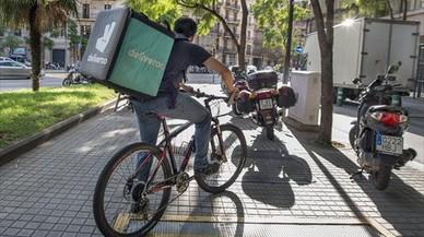 La economía de Deliveroo