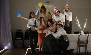 Unna escena de la nueva producción de Ariadne auf Naxos estrenada en el Festival de Aix-en-Provence.